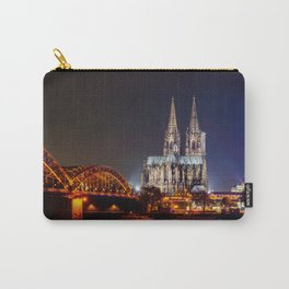 Cologne Cathedral at night Carry-All Pouch