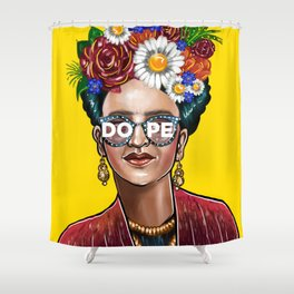 Something Dope Revised Shower Curtain