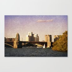 Charles River I Canvas Print