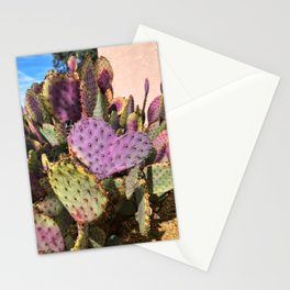 I Left My Cactus Heart In Arizona Stationery Cards