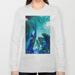 Bright Ocean Spaces, Tiny World Collection Long Sleeve T-shirt
