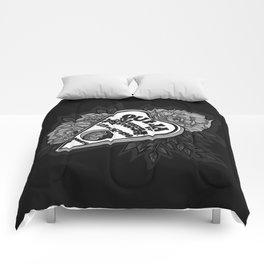 Ouija Planchette - Monochrome Comforters