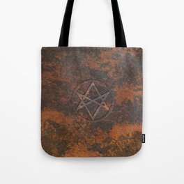 Men of Letters Leather Tote Bag