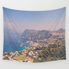 Overlooking Capri Wall Tapestry