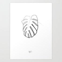 vert 3 Art Print