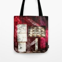 write Tote Bags featuring Write me by Madame Shutter