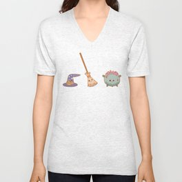 Witches, witches, witches Unisex V-Neck