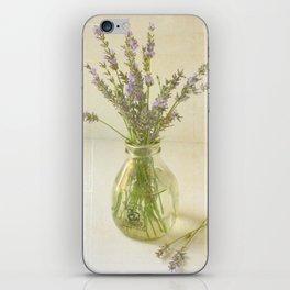 Lavender and Milk iPhone Skin