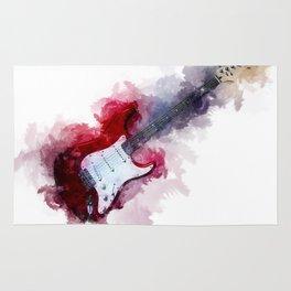 Electric Guitar Rug