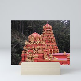 Indian Temple In Sri Lanka Mini Art Print