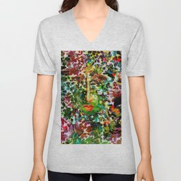 colorful dream Unisex V-Neck