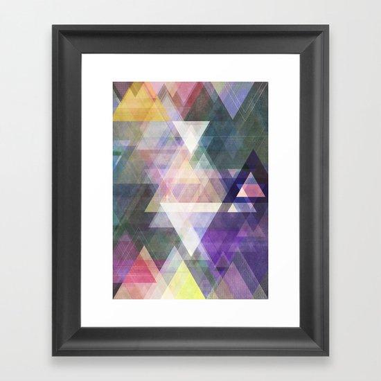 Graphic 45 X Framed Art Print