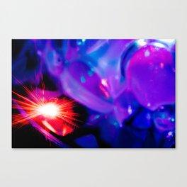 Bubble Light Canvas Print
