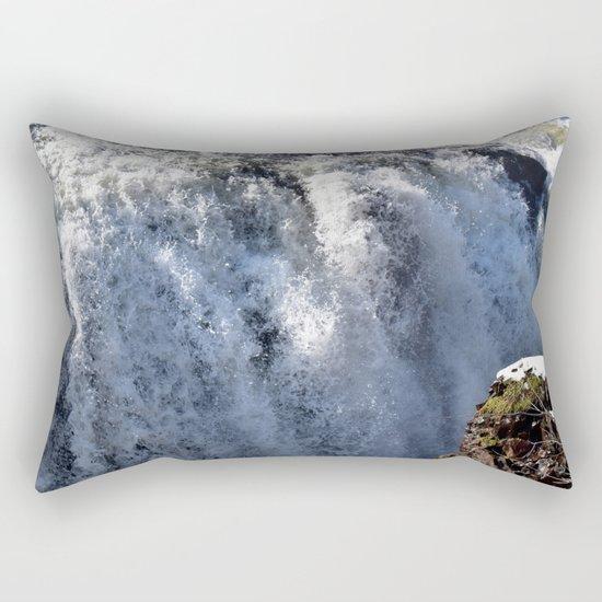 Don't Go Chasing Waterfalls 3 Rectangular Pillow