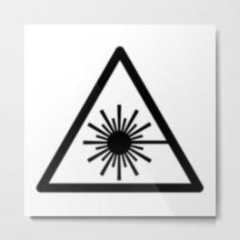 Protagonist/Antagonist - WHMIS Laser Metal Print