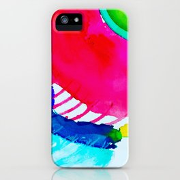 in the blink of an eye iPhone Case