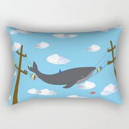 There's Not Always Room For One More! Rectangular Pillow
