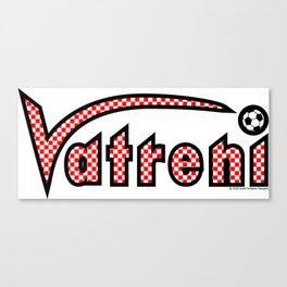 Croatia Vatreni (The Blazers) ~Group D~ Canvas Print