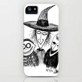We're His Little Henchmen iPhone Case