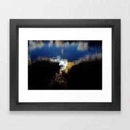 Morning Pond Framed Art Print