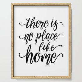 PRINTABLE WALL ART, There Is No Place Like Home, Home Decor Wall Art, Home Sign,Home Sweet Home, Hom Serving Tray