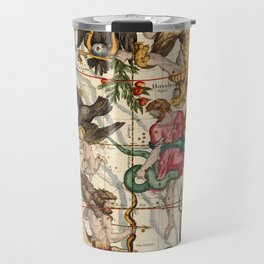 Hercules, Sagittarius, Delphinus, Scorpius, Caper, Lyra, Olor And Other Constellations Travel Mug
