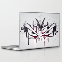 vegeta Laptop & iPad Skins featuring Majin Vegeta by freefallflow
