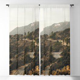 Hollywood Hills Los Angeles Blackout Curtain