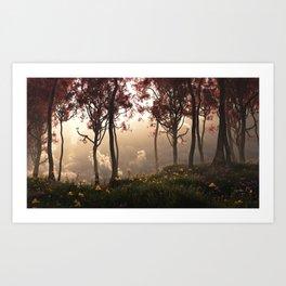 Skygate (Autumn) Art Print