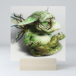 Ebert the goblin - side profile Mini Art Print
