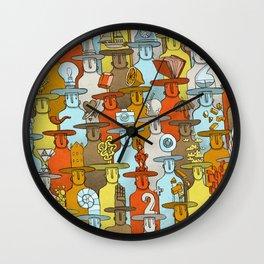 Illusionist Congress Wall Clock