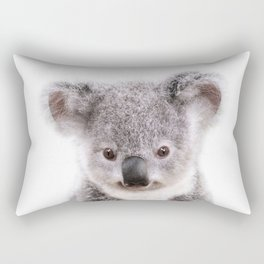 Baby Koala, Baby Animals Art Print By Synplus Rectangular Pillow