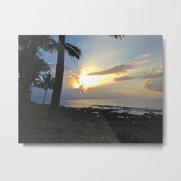 Napili sunset Metal Print