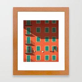 Shyness Framed Art Print