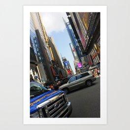 New York City Time Square NYC Art Print