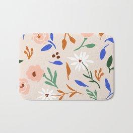 Tulum Floral Bath Mat