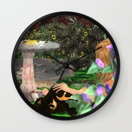 Cult of Youth: Corruption Sourse Wall Clock