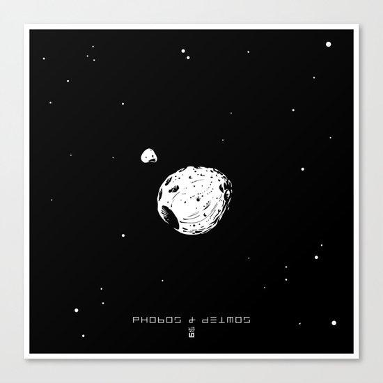 PHOBOS & DEIMOS Canvas Print