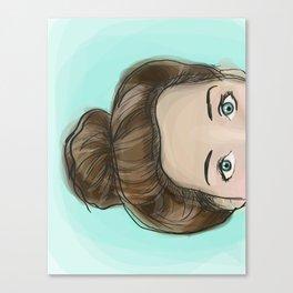 Bunhead Canvas Print