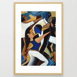 Dance with Me Framed Art Print