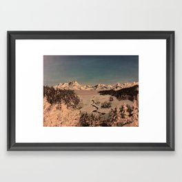 Turnigan View Framed Art Print