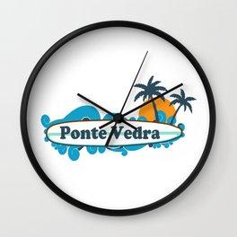 Ponte Vedra Beach - Florida. Wall Clock