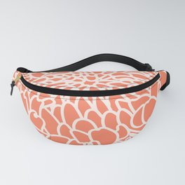 Coral Chrysanth 2 Fanny Pack