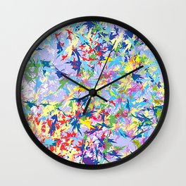 Feuillage Wall Clock