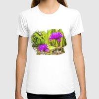 lotus T-shirts featuring Lotus  by Karl-Heinz Lüpke