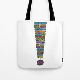 Exclamation! Tote Bag