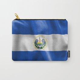 El Salvador Flag Carry-All Pouch