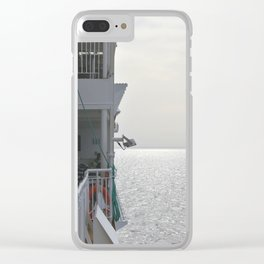 Naxosferry 2 Clear iPhone Case