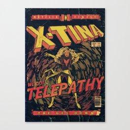 Xtina Telepathy Canvas Print