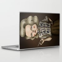 mad men Laptop & iPad Skins featuring Betty Draper (Mad men) by Maripili